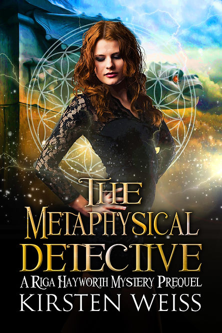 Riga Hayworth paranormal mystery book cover