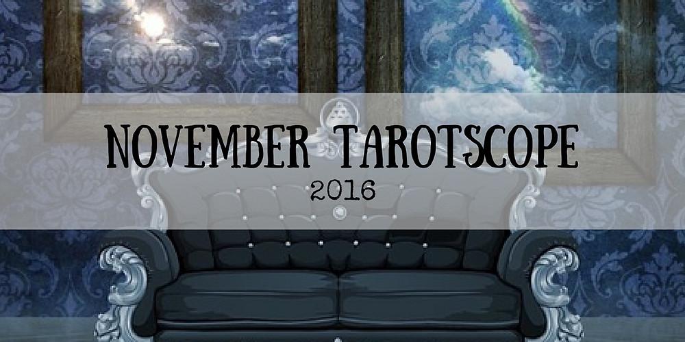 November Tarotscope Kirsten Weiss