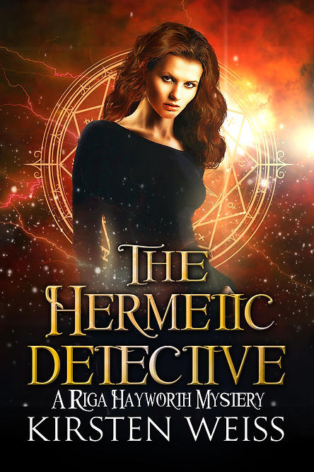 Riga Hayworth paranormal mystery book cover