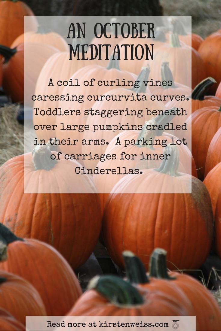 October meditation