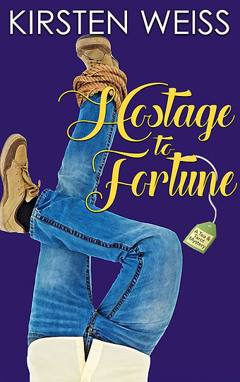 Hostage to Fortune cover - Tea & Tarot book 2