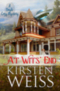 At Wits' End, a funny cozy mystery novel