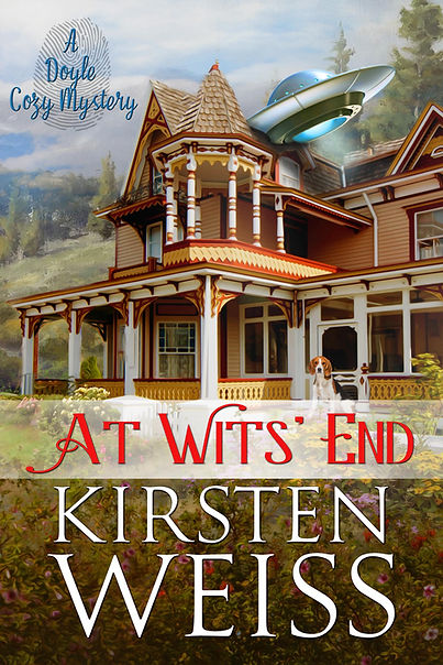 At Wits' End series book cover