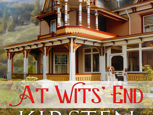 Cover Reveal! At Wit's End