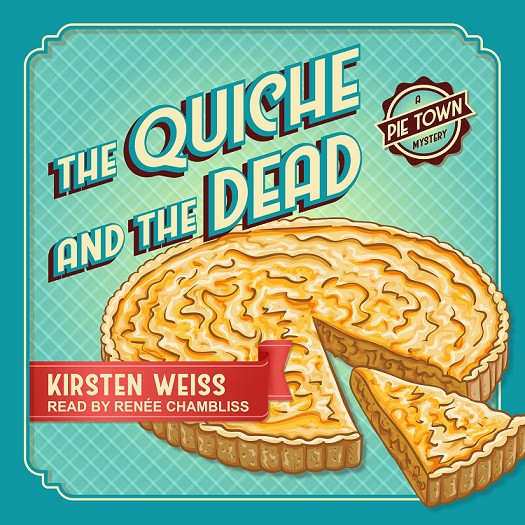 The Quiche and the Dead audio book