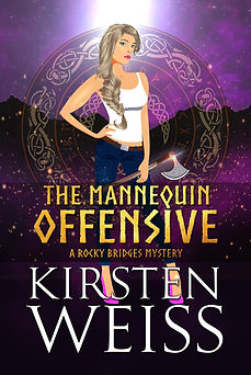 The Mannequin Offensive, an urban fantasy paranormal mystery with a strong, complicated woman detective