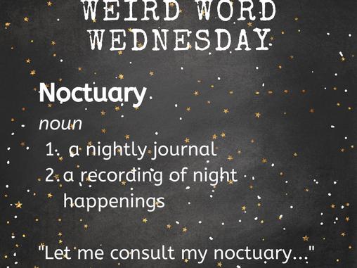 Hyperion's wEiRd Word Wednesday!
