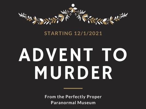 Advent to Murder Returns!