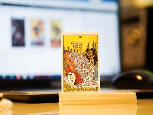 A Walk in the Woods. A Tarot Blog.