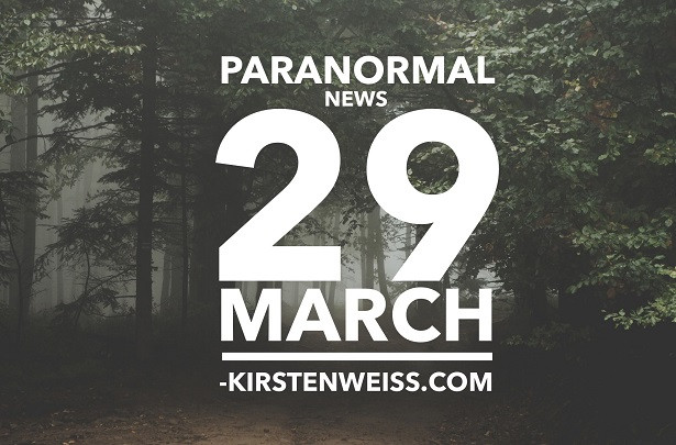 Dark Woods - Header for Paranormal News 29 March