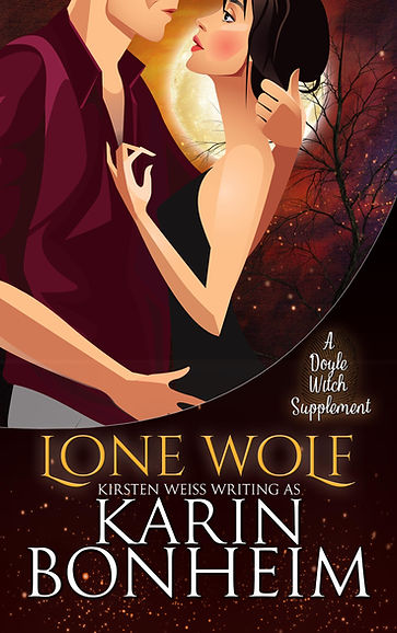 Lone Wolf, a paranormal romance and mystery in the Witches of Doyle series of witch mystery books