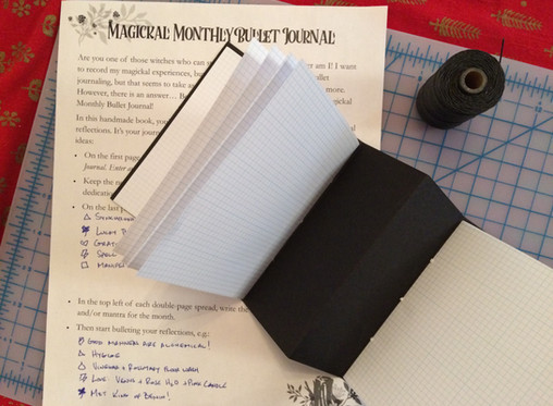 The Magickal Monthly Bullet Journal