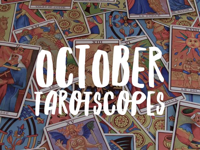 October Tarotscopes