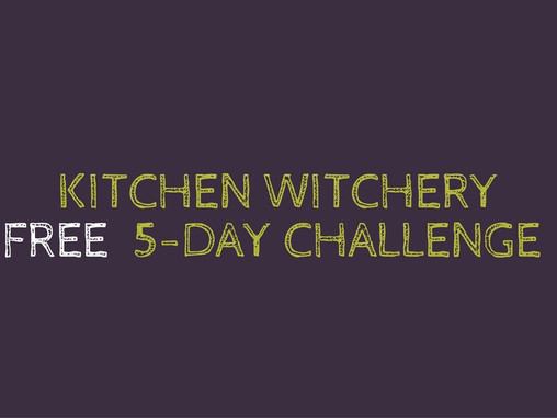 Free Kitchen Witch Class