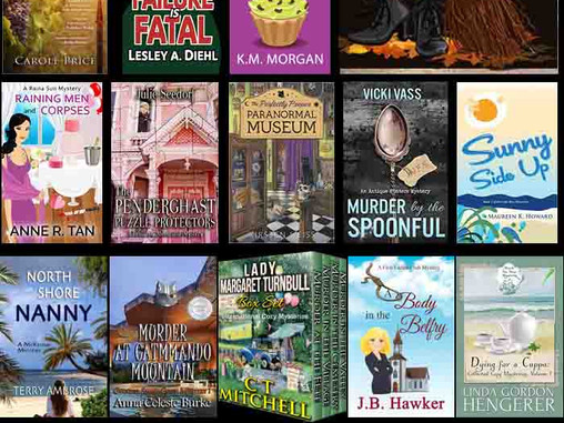 A Mad, Bad, Cozy Mystery Giveaway