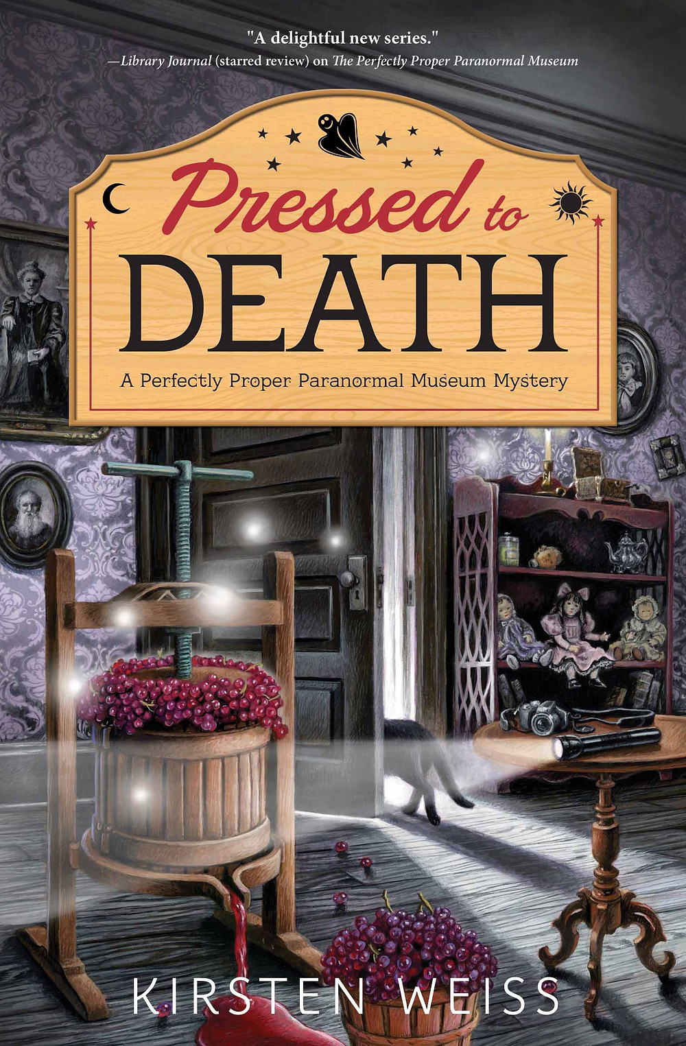 Paranormal Museum cozy mysteries by Kirsten Weiss