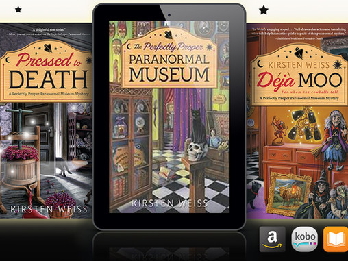 Book 5 in the Perfectly Proper Paranormal Museum Series!
