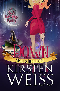 Down, a witch cozy mystery, paranormal mystery
