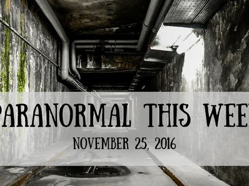 ParaNormal News This Week!