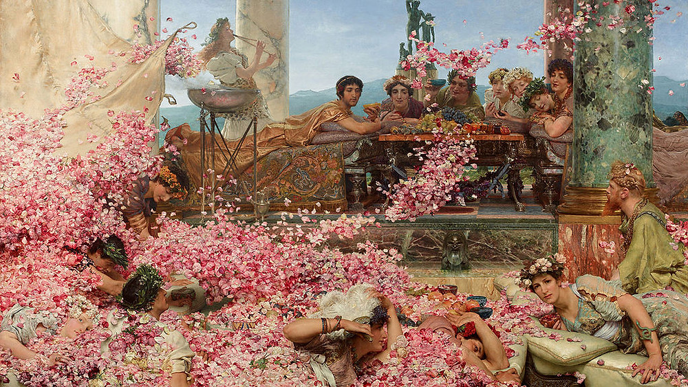 The Roses of Heliogabalus (1888) by Lawrence Alma-Tadema