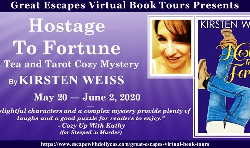 Hostage to Fortune Book Tour