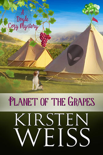 Planet of the Grapes funny cozy mystey novel