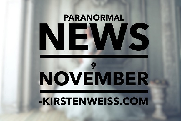 Paranormal News of the Week image - spooky bride