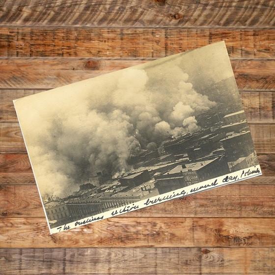 Postcard - San Francisco Fire, 1906