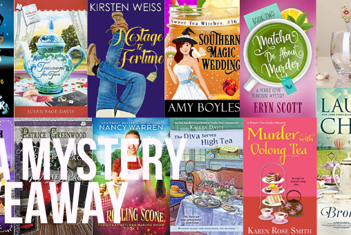 Massive Tea-themed Cozy Mystery Giveaway!