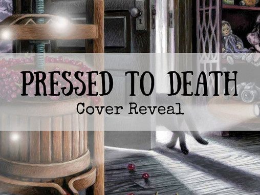 Cover Reveal: Pressed to Death