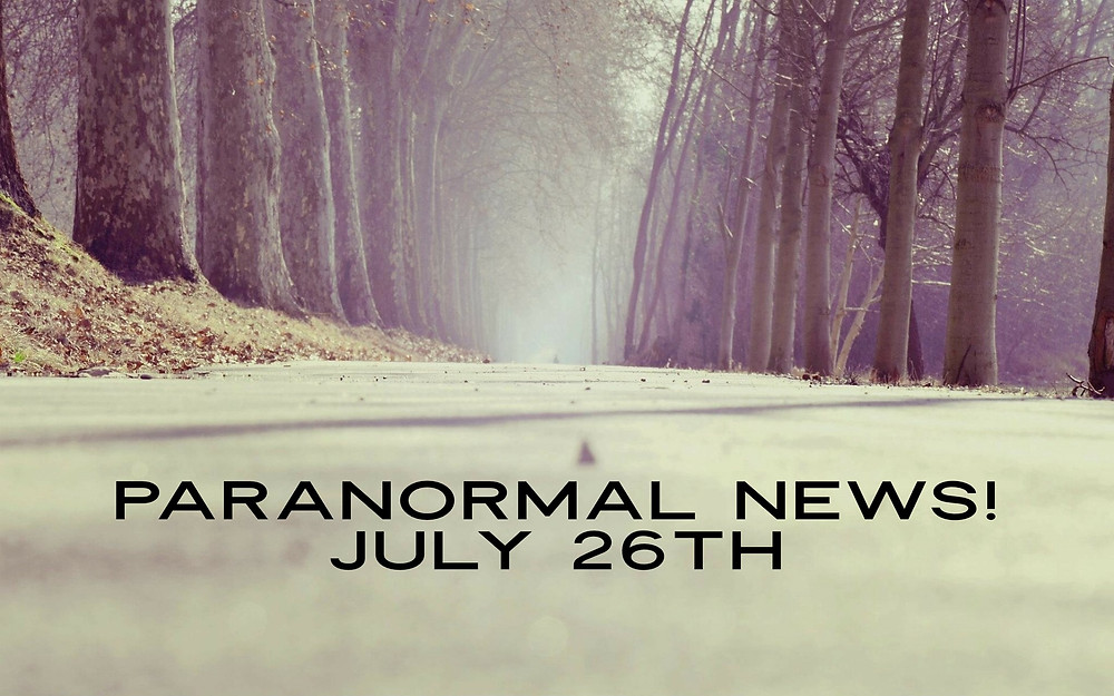 paranormal news of the week - creepy street image