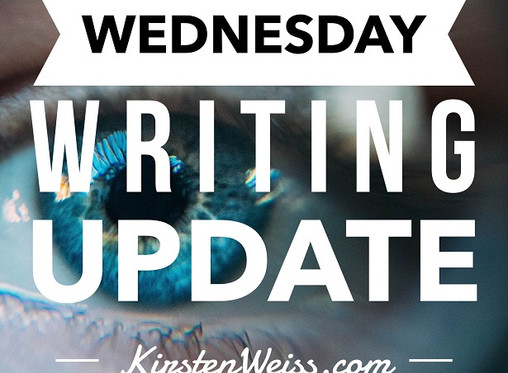 Wednesday Writing Update