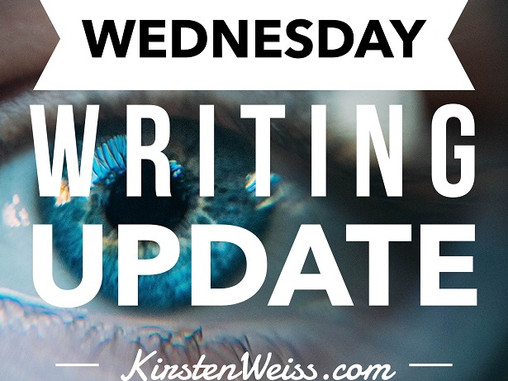 Wednesday Writing Update