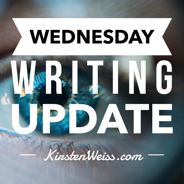 Wednesday Writing Update - Sight Cover