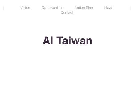 Estrategia Inteligencia Artificial - Taiwan