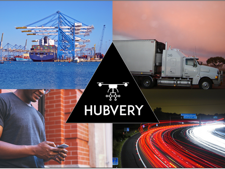The future of logistics - HUBVERY Drone Delivery