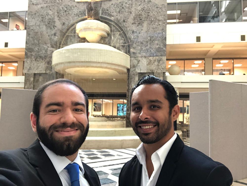 Jean García Periche y Felipe Castro Quiles, MBA se despiden del primer viaje del roadshow de GENIA por América