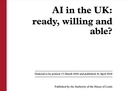 Estrategia Inteligencia Artificial - Reino Unido
