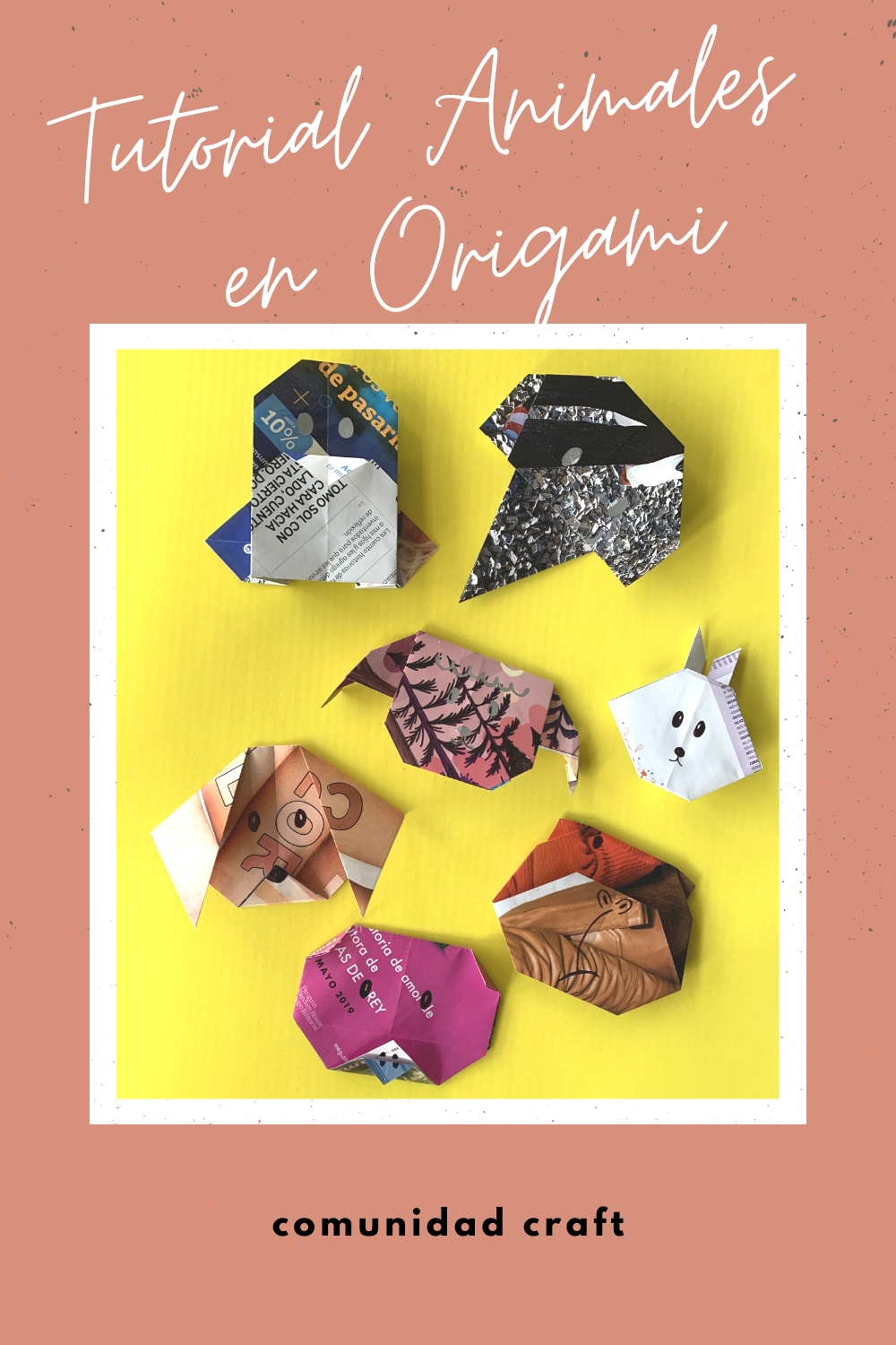 Tutorial Animales en Origami