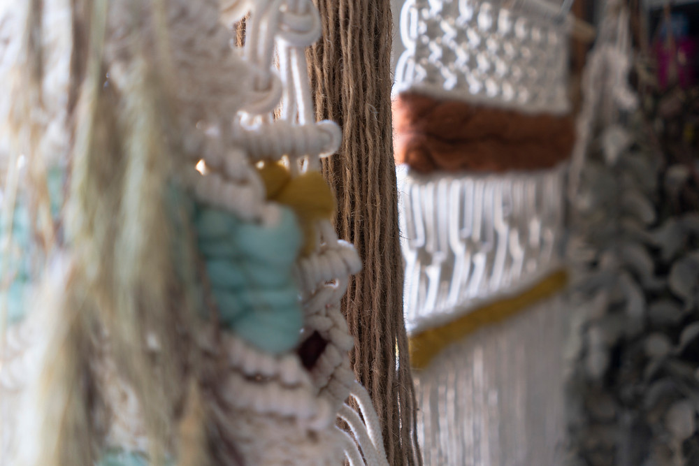 macrame arte textil lanas hilados