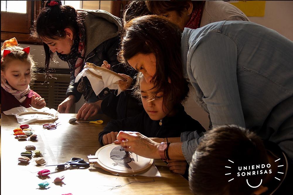 Bordado para niños animales autoctonos argentinos tienda rosaura uniendo sonrisas