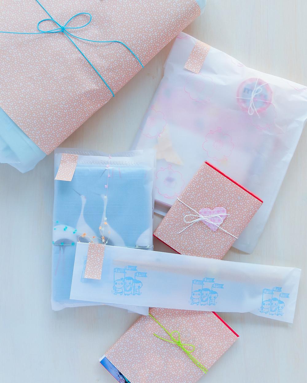 Regalos objetos japoneses wrapping
