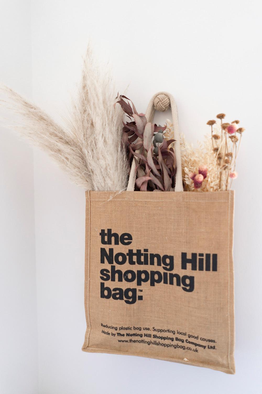 the notting hill shopping bag