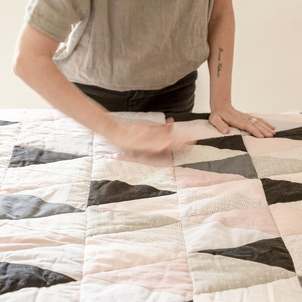 Manta patchwork Deborah Di Tullio Líbica