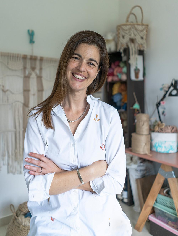 Podcast Comunidad Craft episodio 2 arte textil Barbi Caram de Unido macrame