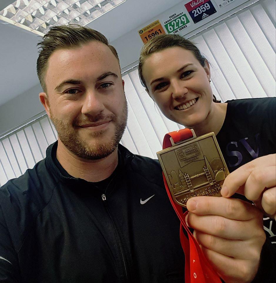 David A Johnson - London Marathon 2017