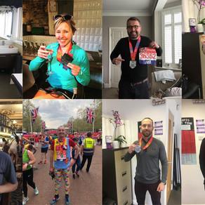 SV's London Marathon 2018 Hall of Fame