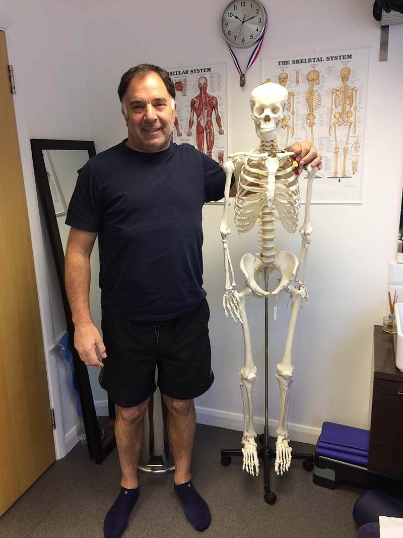 John Stephens is a client of SV Sports Therapy
