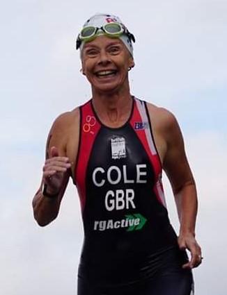 Karen Cole, triathlete