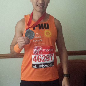 """I was extremely impressed with her knowledge"" - Phu Ly, London Marathon 2015"